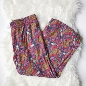 NWT Ann Taylor LOFT Wide Leg Floral Print Pants